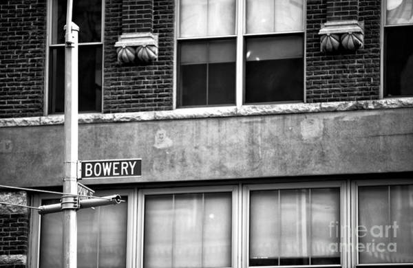Photograph - Bowery And Prince by John Rizzuto