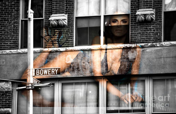 Photograph - Bowery Babe by John Rizzuto