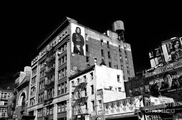 Photograph - Bowery Billboards by John Rizzuto