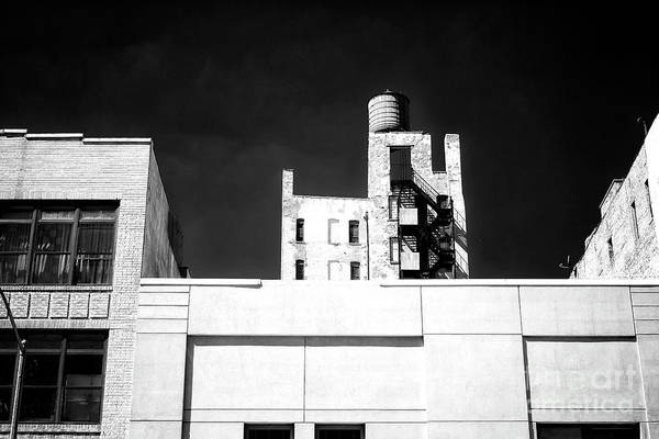 Photograph - Bowery Building Dimensions by John Rizzuto