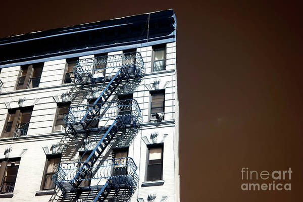 Photograph - Bowery Building Infrared by John Rizzuto