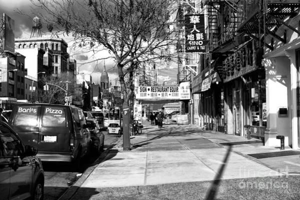 Photograph - Bowery Days by John Rizzuto