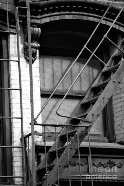 Photograph - Bowery Escape by John Rizzuto