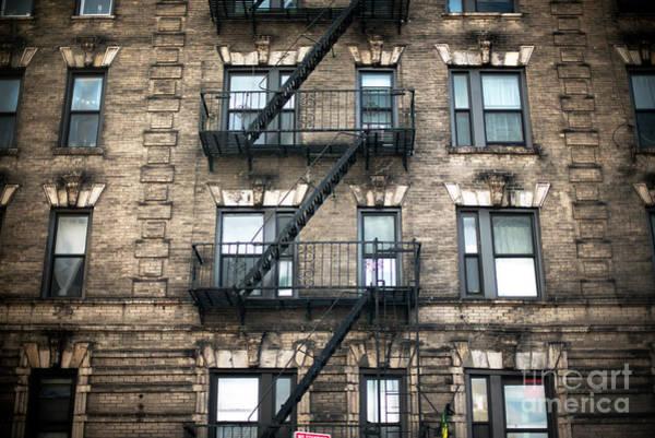 Photograph - Bowery High Rise by John Rizzuto
