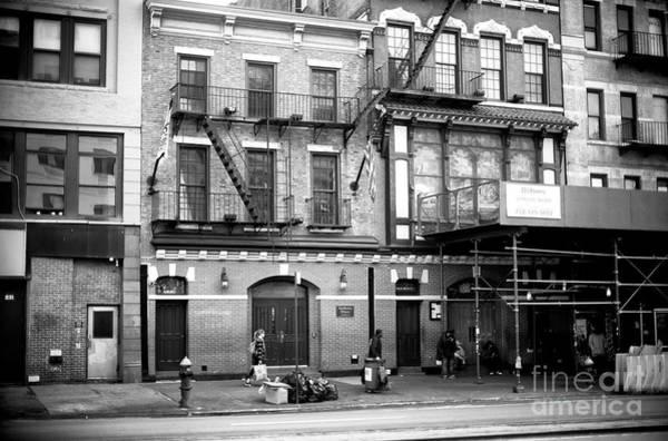 Photograph - Bowery Mission by John Rizzuto