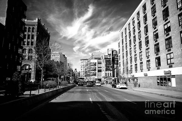 Photograph - Bowery Shadows by John Rizzuto