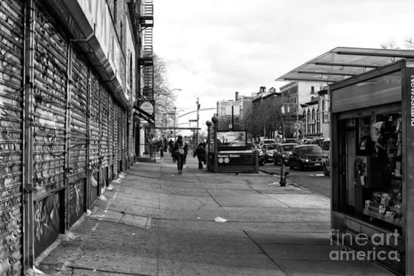 Photograph - Bowery Station by John Rizzuto