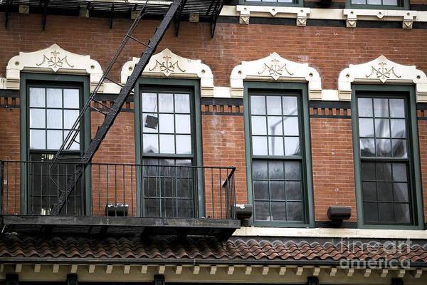 Photograph - Bowery Window Design by John Rizzuto