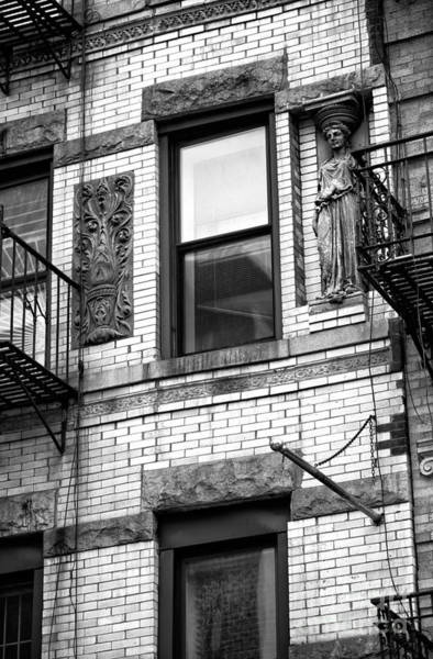 Photograph - Bowery Window Guests by John Rizzuto