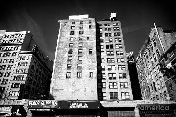 Photograph - Bowery Window Patterns by John Rizzuto