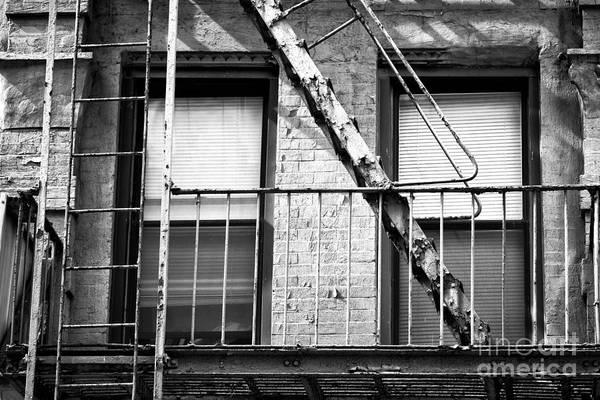 Photograph - Bowery Wrought Iron by John Rizzuto