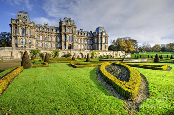 Tee Photograph - Bowes Museum by Smart Aviation