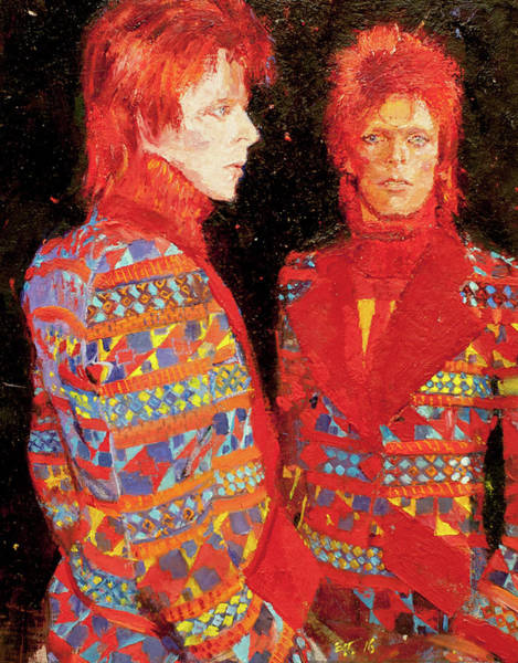 Bowie Painting - Bowie by Edward Thomas