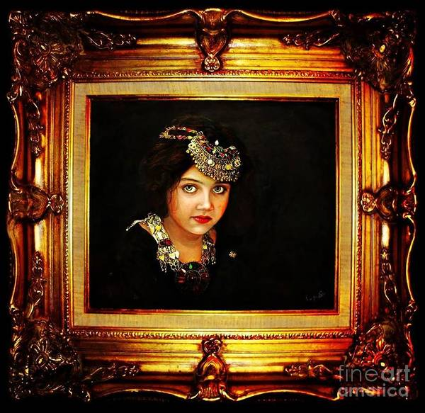 Painting - Return To Innocence  by Qasir Z Khan
