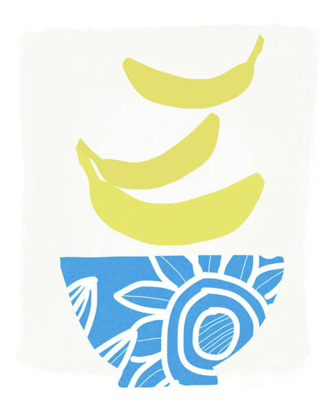 Wall Art - Painting - Bowl Of Bananas- Art By Linda Woods by Linda Woods