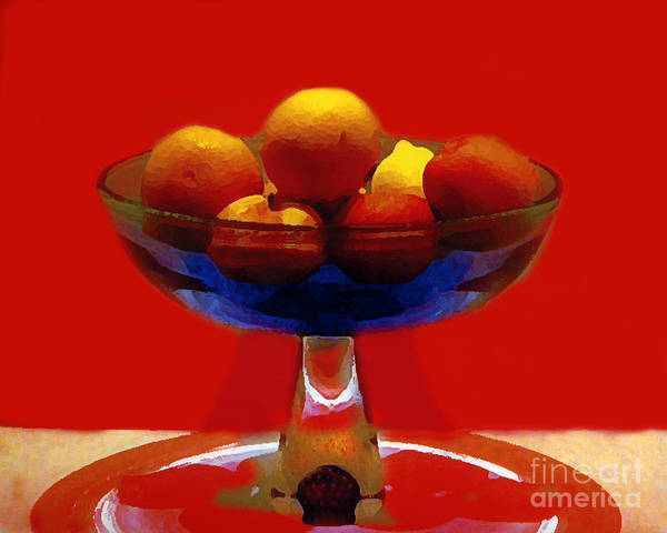 Wall Art - Photograph - Bowl Of Fruit by Madeline Ellis