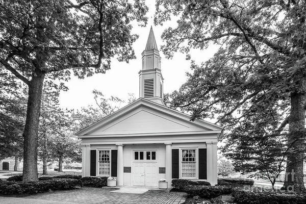 Photograph - Bowling Green State University Prout Chapel by University Icons
