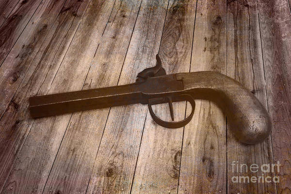 Antique Firearms Wall Art - Photograph - Box Lock Pistol by Jorgo Photography - Wall Art Gallery