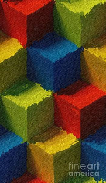 Dimension Wall Art - Painting - Box Of Color by Tito