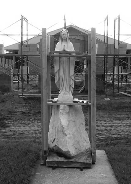 Photograph - Boxed Up Bvm by Steve Sperry
