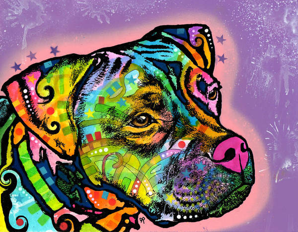 Painting - Boxer Bully by Dean Russo Art