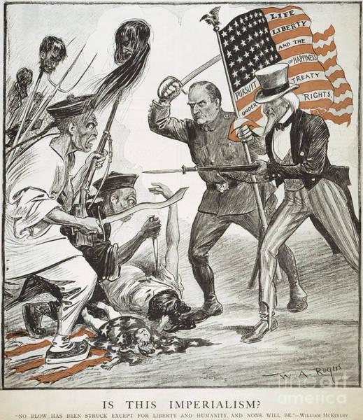 Photograph - Boxer Rebellion Cartoon by Granger