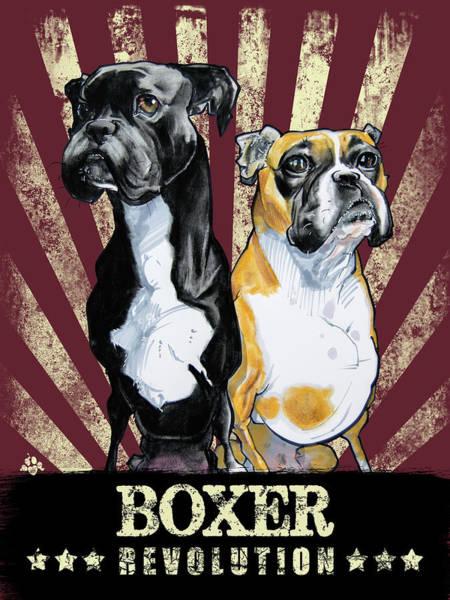 Propaganda Drawing - Boxer Revolution by John LaFree