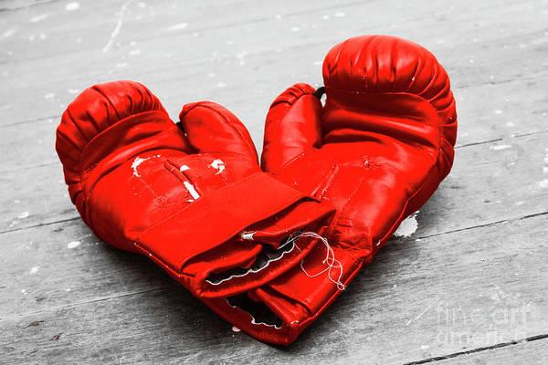 Kickboxing Photograph - Boxer Still Life by Jorgo Photography - Wall Art Gallery