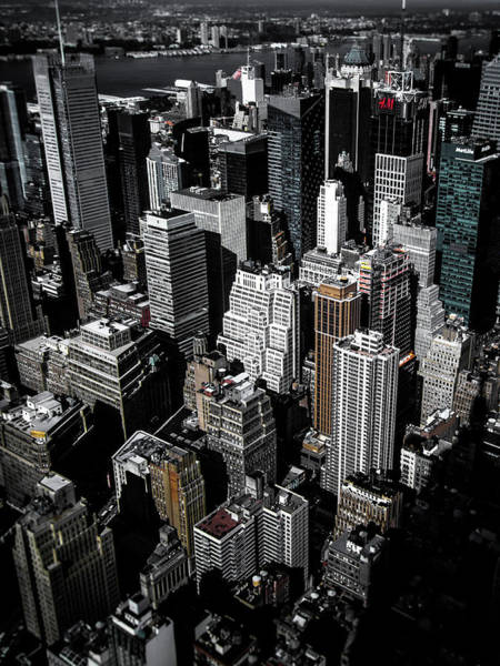 Times Square Photograph - Boxes Of Manhattan by Nicklas Gustafsson