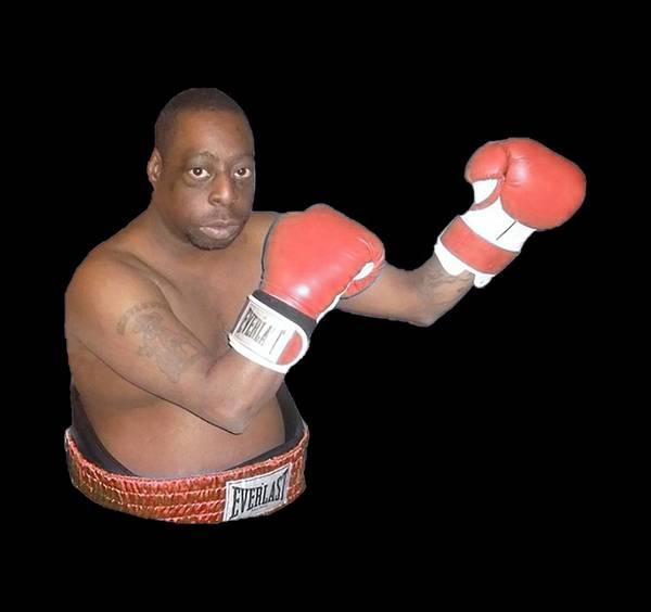 Howard Stern Wall Art - Drawing - Boxing by Duku Twin