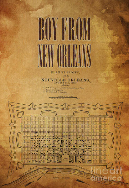 Wall Art - Digital Art - Boy From New Orleans by Drawspots Illustrations