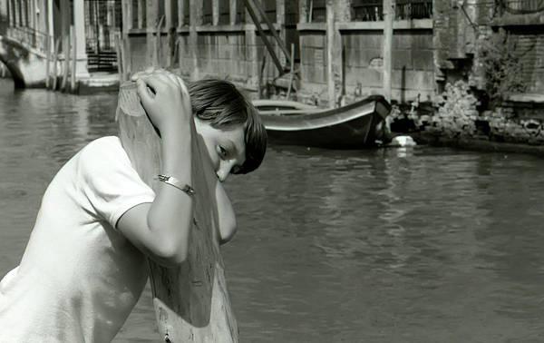 Photograph - Boy Of Venice by KG Thienemann