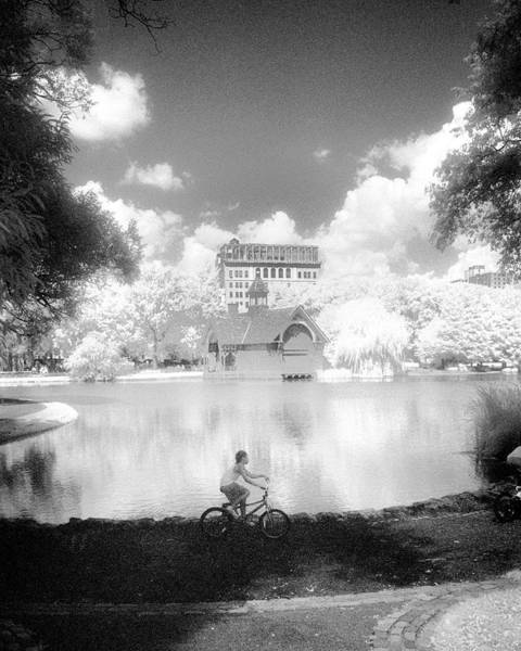 Photograph - Boy On Bike by Dave Beckerman