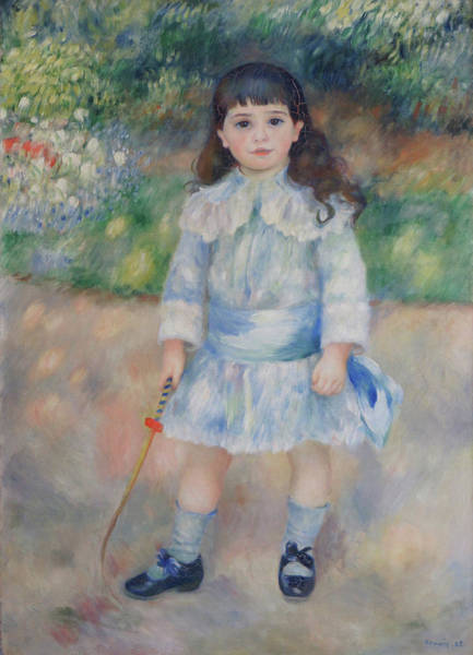 Boy With A Whip Art Print by Pierre Auguste Renoir