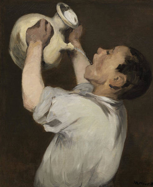 Pitcher Painting - Boy With Pitcher by Edouard Manet