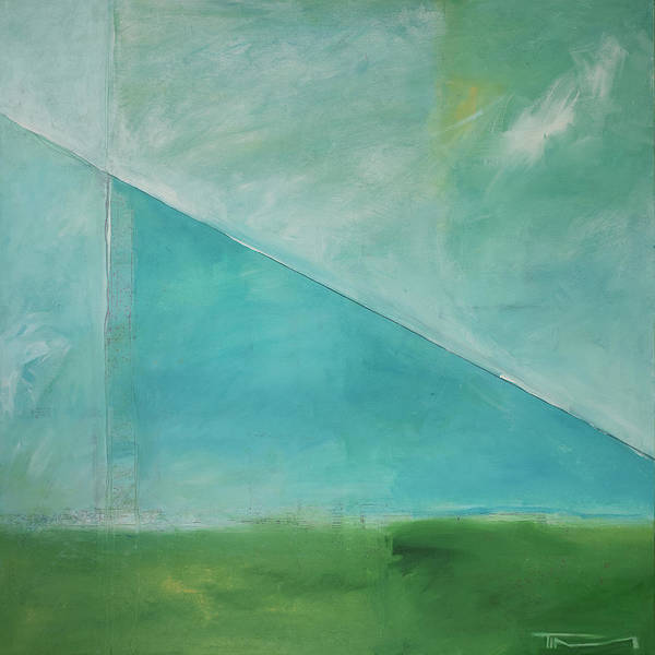 Painting - Angular Landscape by Tim Nyberg