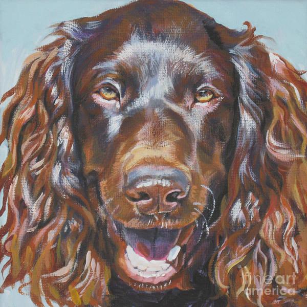 Spaniels Painting - Boykin Spaniel by Lee Ann Shepard