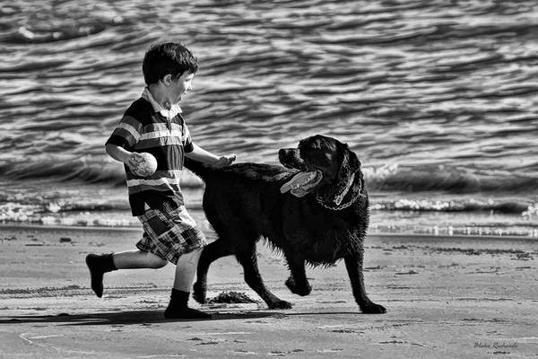Photograph - Boys Best Friend by Blake Richards
