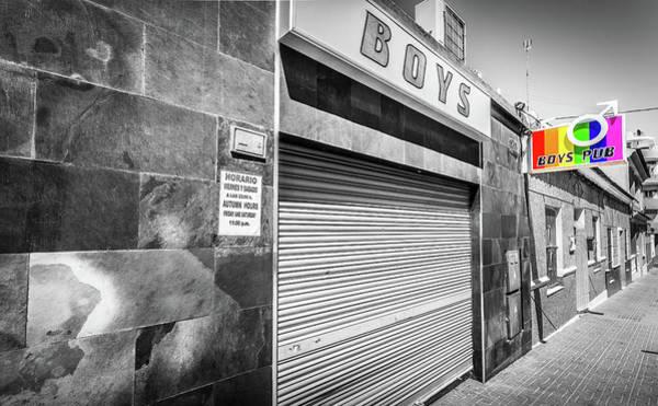 Photograph - Boys Pub by Gary Gillette