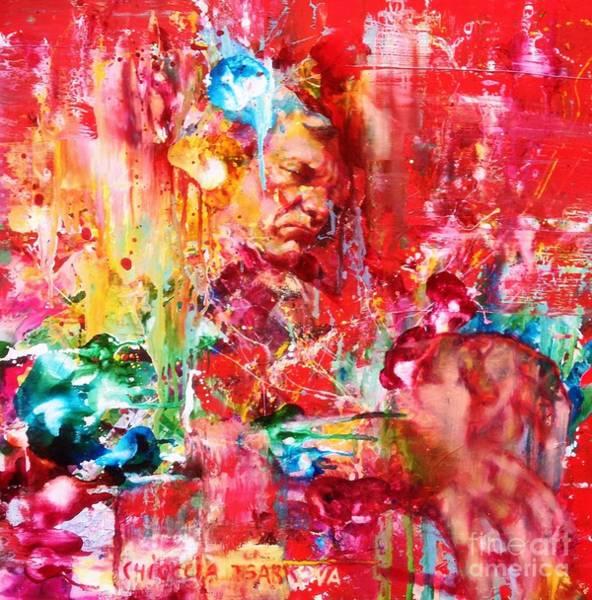 Wall Art - Painting - Brad Mehladau by Massimo Chioccia