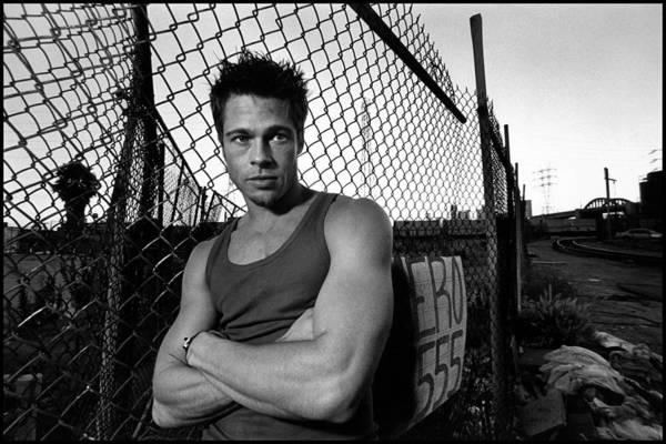 Sports Digital Art - Brad Pitt by Super Lovely