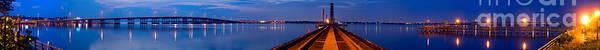 Bradenton Wall Art - Photograph - Bradenton Railway Bridge by Rolf Bertram