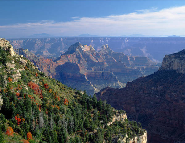 Photograph - 613217-brahma And Zoroaster Temple, Grand Canyon  by Ed  Cooper Photography