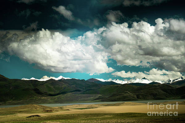Wall Art - Photograph - Brahmaputra Lthe Himalayas Tibet Yantra.lv 2016  by Raimond Klavins