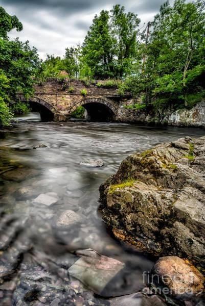 Bethesda Photograph - Braichmelyn Bridge by Adrian Evans