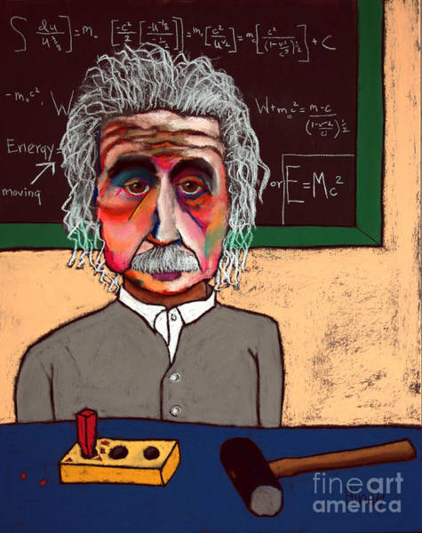 Quantum Physics Painting - Brain Fart by David Hinds