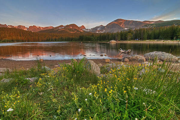 Photograph - Brainard Lake by Gary Lengyel