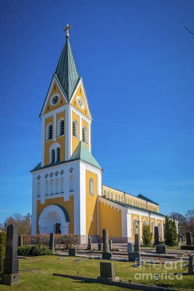 Wall Art - Photograph - Brakne-hoby Church by Inge Johnsson