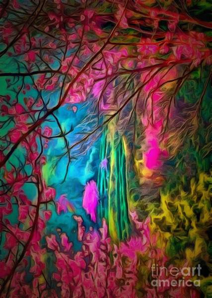Painting - Branches And Blooms In Ambiance by Catherine Lott