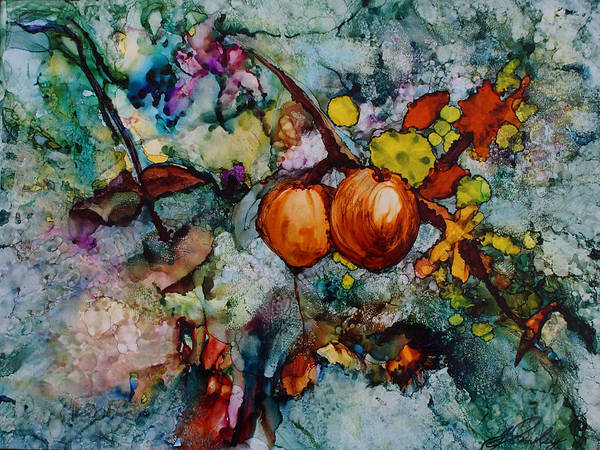 Painting - Branches Of Fruit by Joanne Smoley